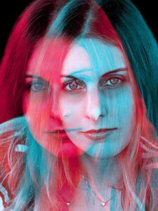 Elena T - Artistic self-portrait